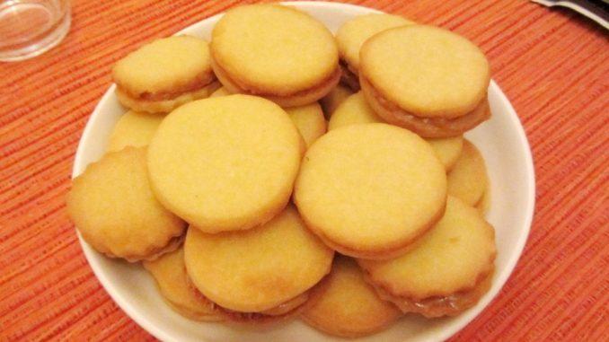 alfajores uit Zuid Amerika met dulce de leche vulling