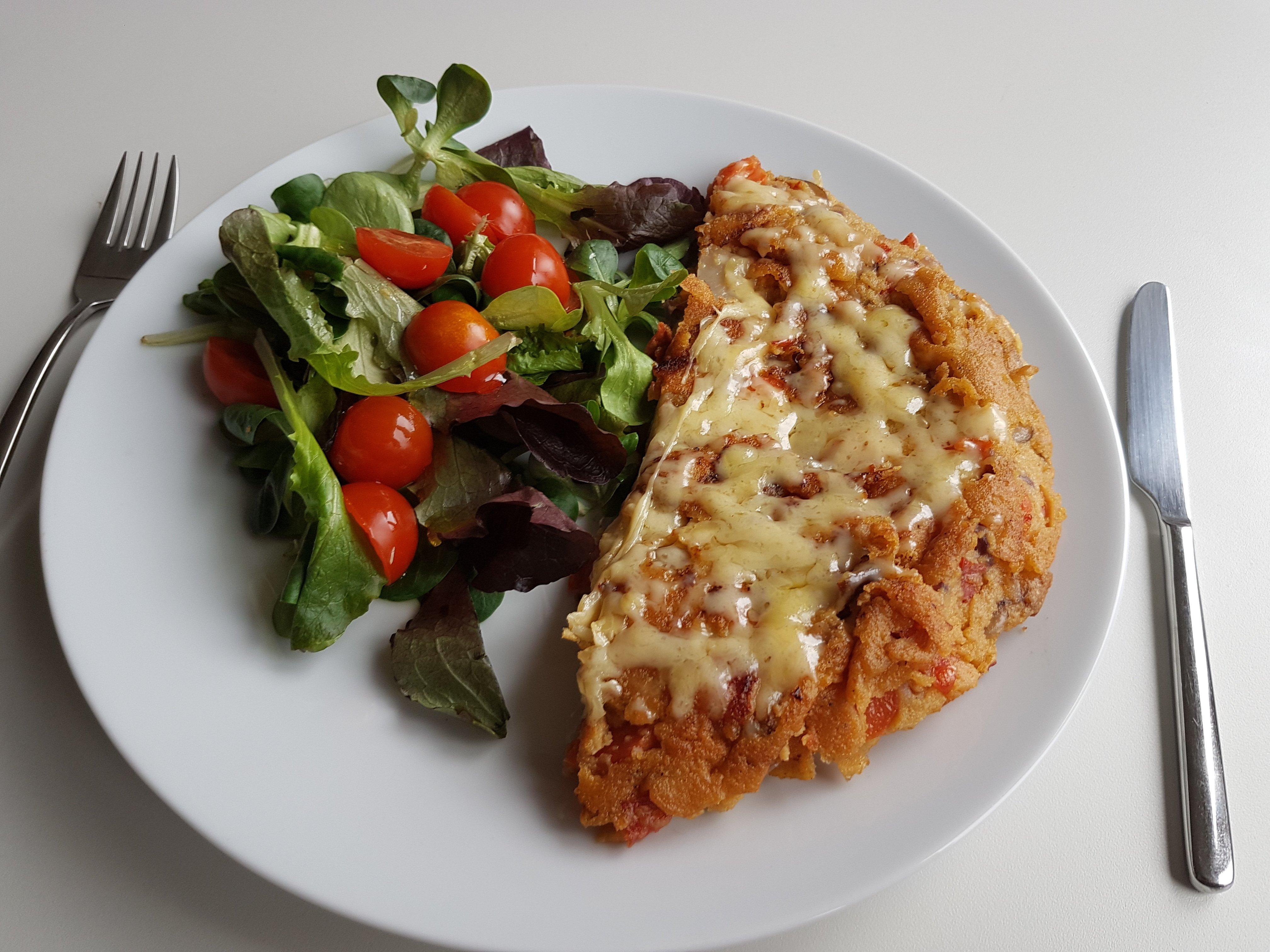 tortilla kikkererwtenmeel veganisch