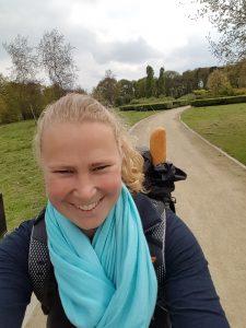 Selfie training pelgrimstocht