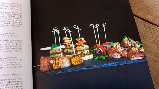 Tapas en pinchos uit Sabor Sabor kookboek