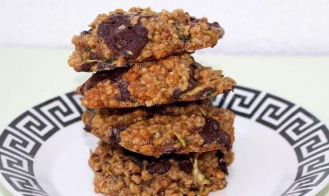 Chocolade courgette koekjes ems real food