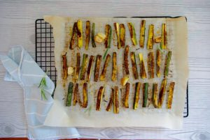 courgette frietjes van Da Noi