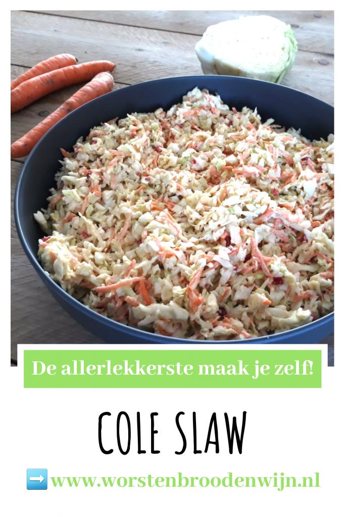 Zelgemaakte Coleslaw