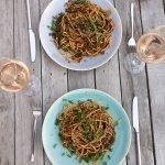 Vegetarische pasta uit Bazaar van Sabrina Ghayour