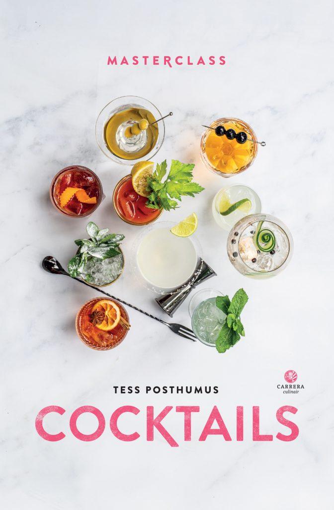 Cover van cocktailboek Masterclass Cocktails van Tess Posthumus