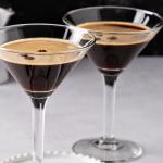 espresso martini in glas