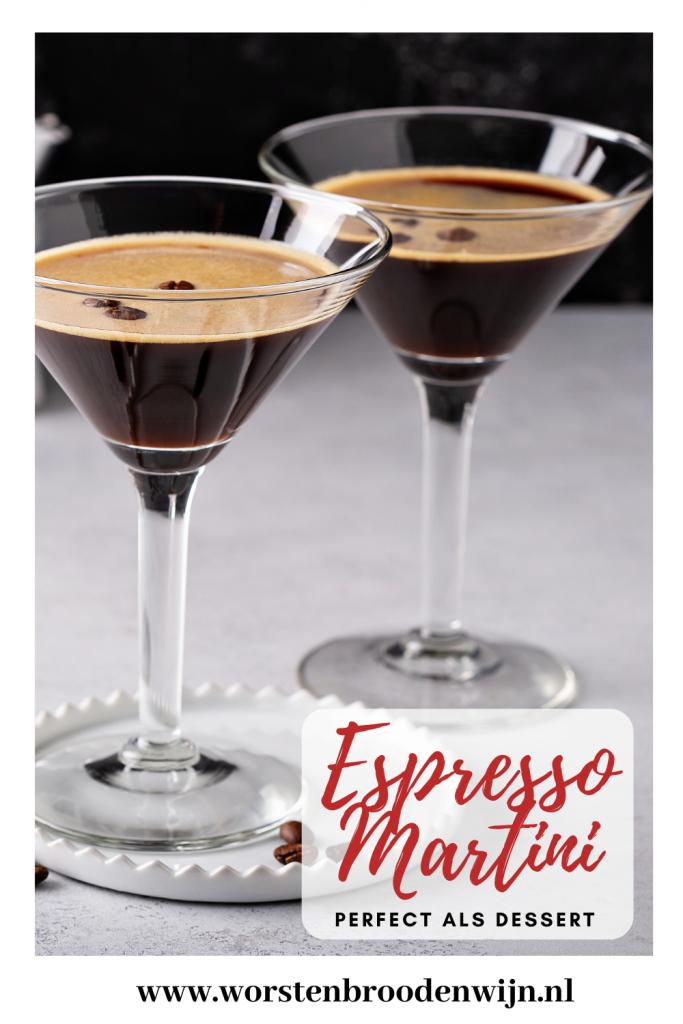 Pin Espresso Martini