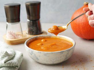 Pompoensoep met. tomaat